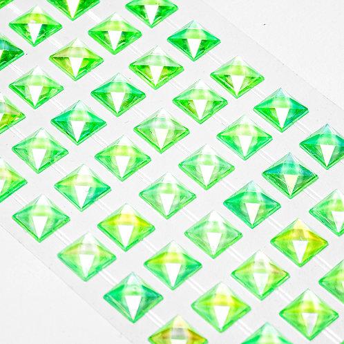Cartela de Strass Adesivos 18 cm x 7,5 cm - 5066-03