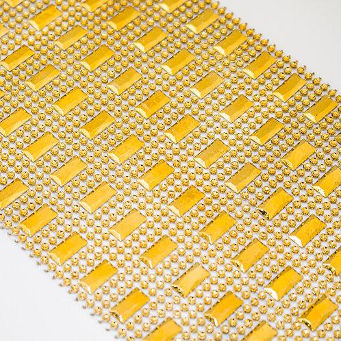 Manta de Plástico Dourada 3267 - 0,11 m x 9 m