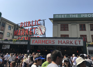 📍Travel with Bonnie : Pike market