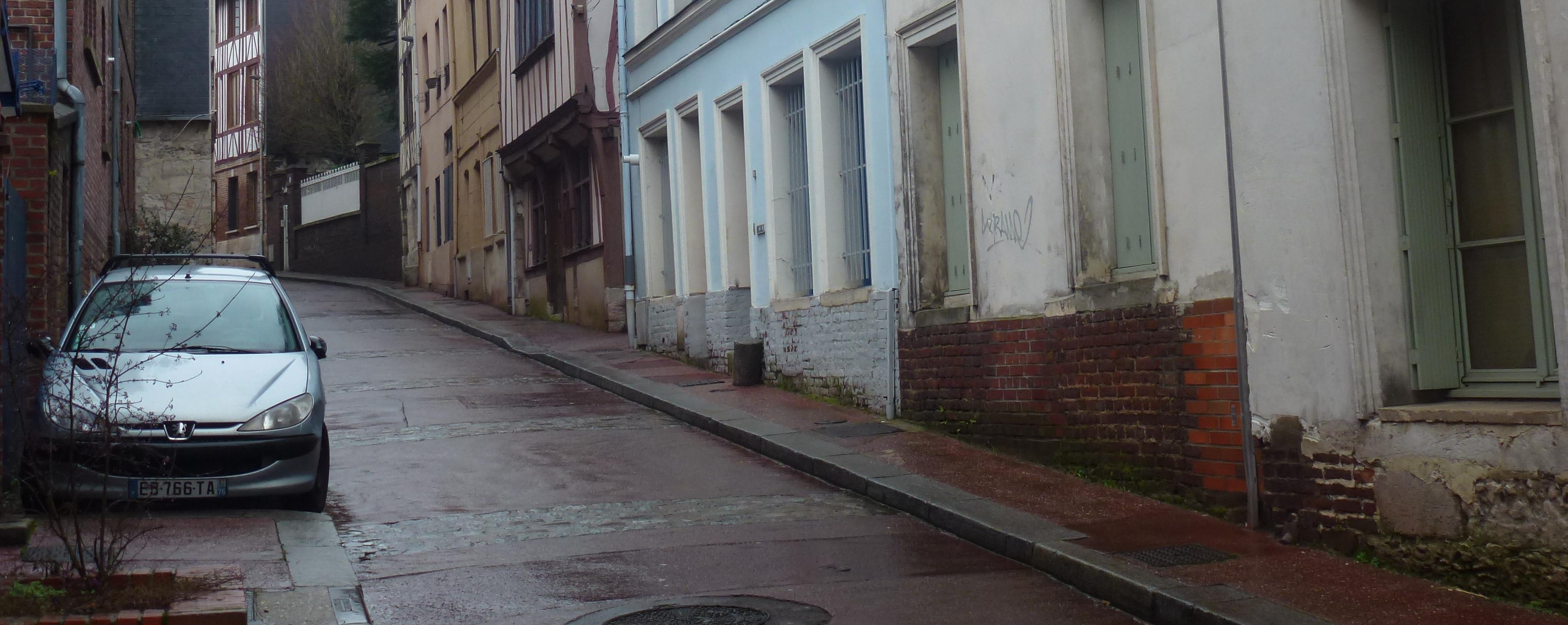 Rue des Deux-Anges aujourd'hui (2 fourgon)