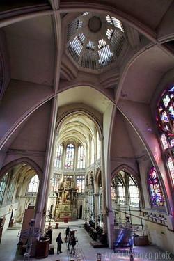 Vue depuis la tribune du grand orgue