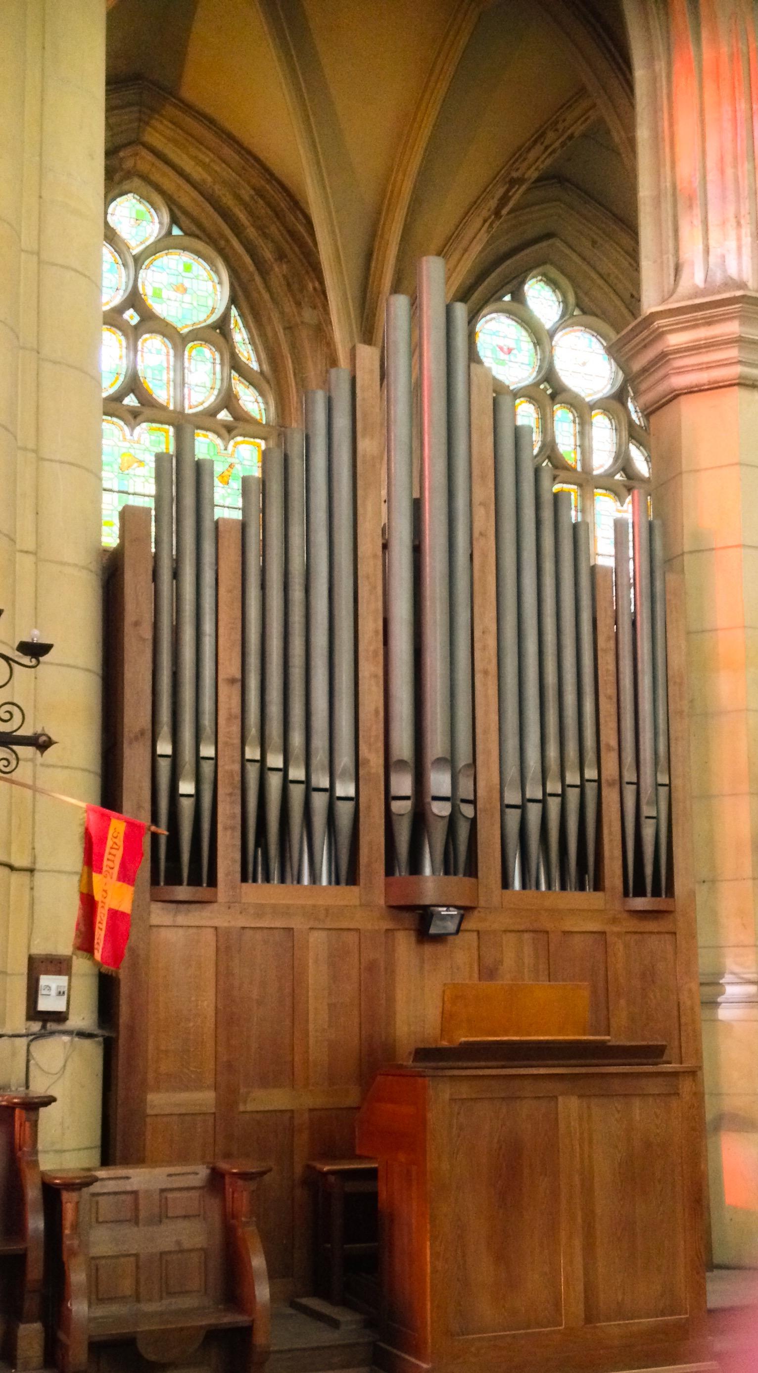 Orgue de chœur Rochesson Beuchet-Debierre 1940-1957