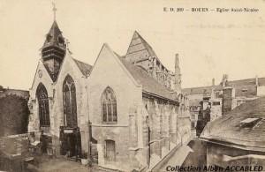Église Saint-Nicaise avant 1934