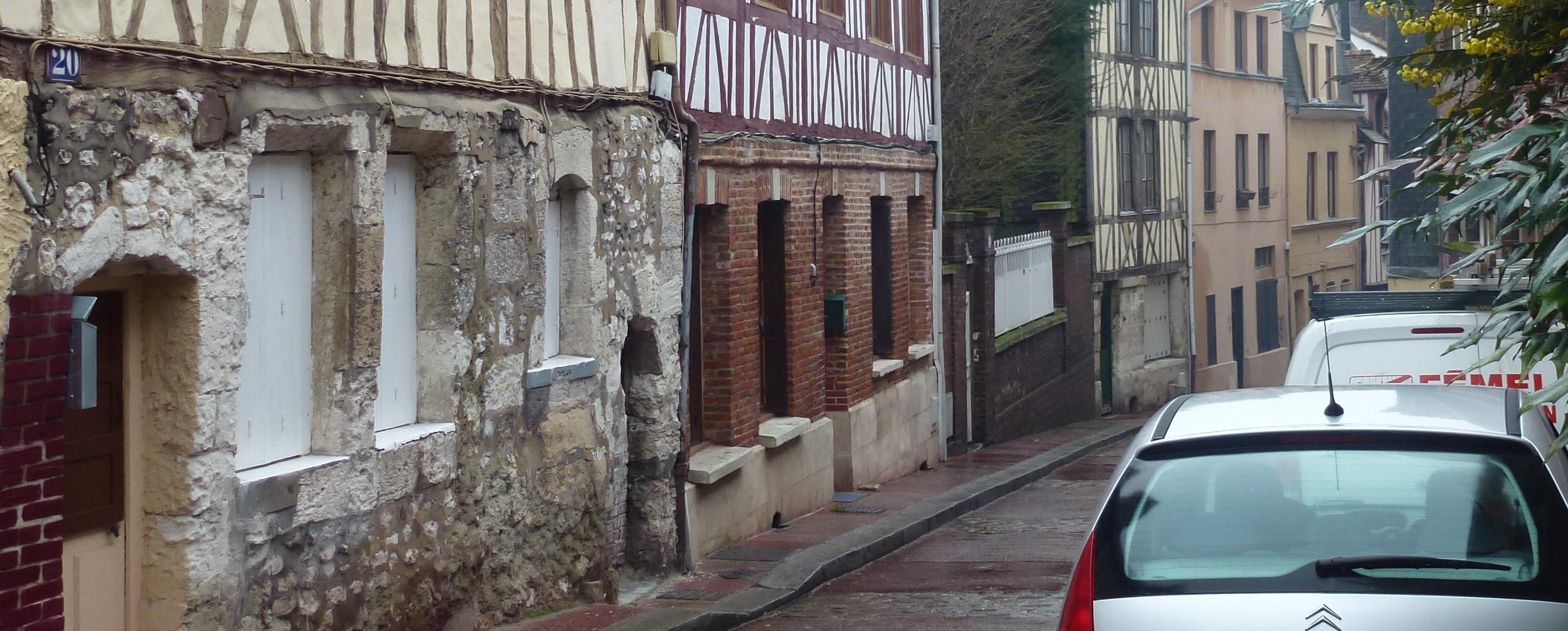Rue des Deux-Anges aujourd'hui (1 fourgon)