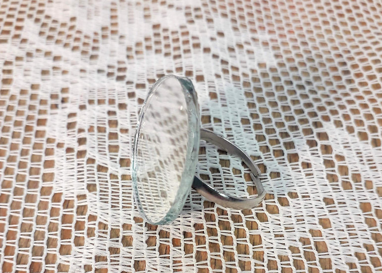 Reflective mirror ring