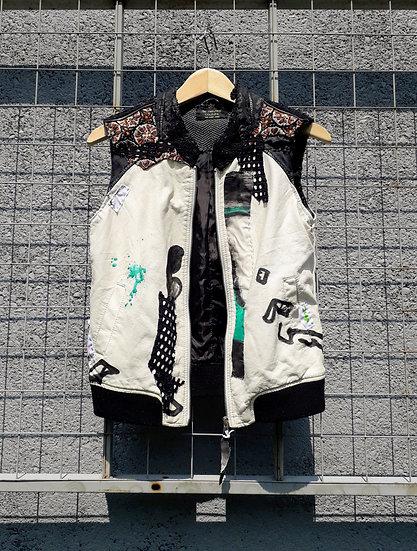 Punk in classics jacket