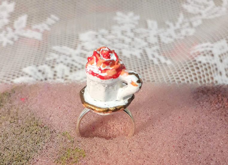 Cup of tea-roses ring
