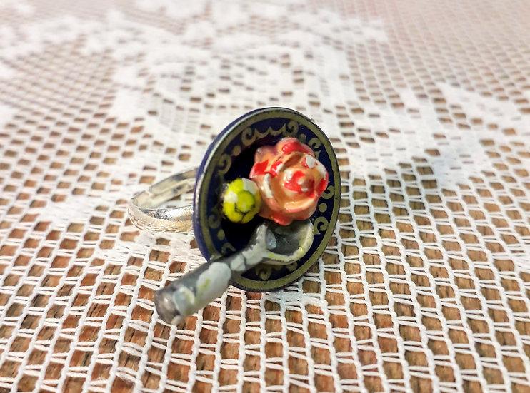 Edible rose ring