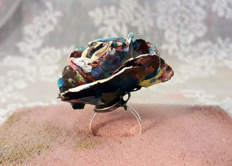 Flower ring two