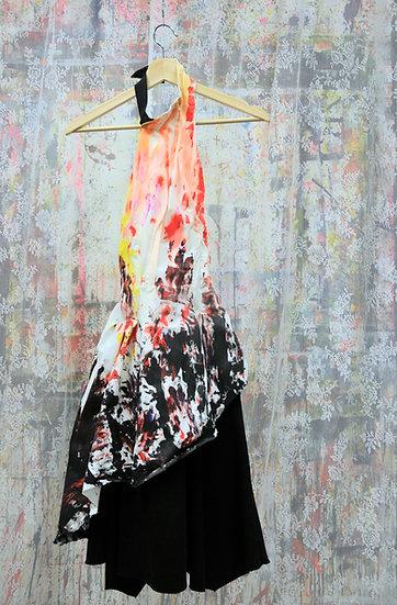 Wild Intuitive Pattern Dress