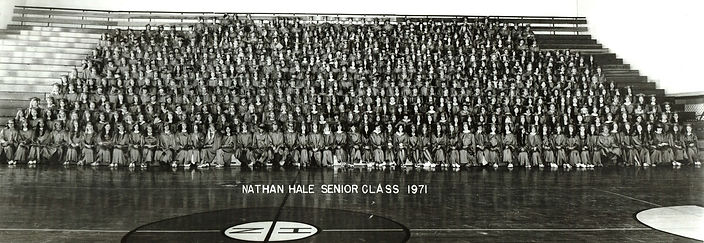 Nathan Hale Senior Class 1971