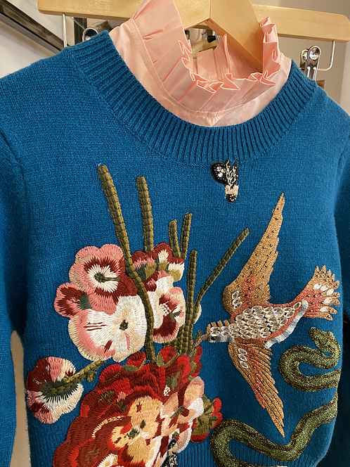 Deco sweater Flower