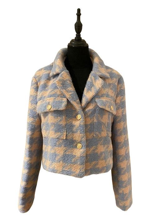 Jacket PdPoule poudre/celeste