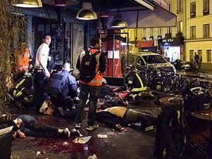Atentados en París: más de 120 muertos y 300 heridos
