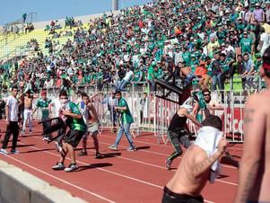 Violencia en Chile: se suspendió Wanderers-Colo Colo por una guerra entre barras adentro de la canch