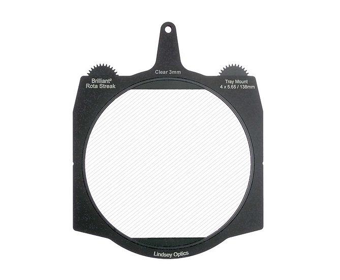 4 x 5.65 Lindsey Optics Rota-Streak Clear (3mm)