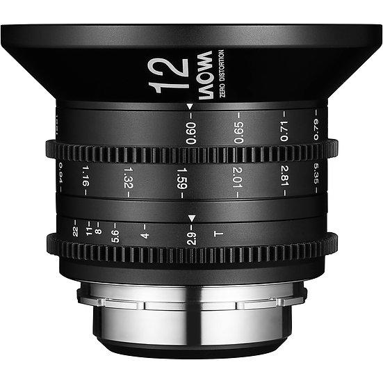 Laowa 12mm T2.9 Zero-D Cine Lens (PL Mount)