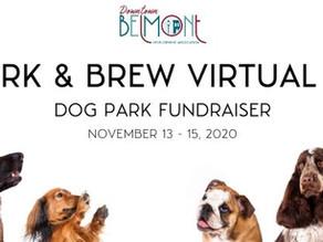 Bark & Brew Virtual 5K | Dog Park Fundraiser