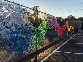 Eco Blooms Community Art Installation