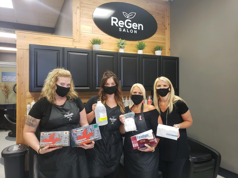 ReGen Salon PPE