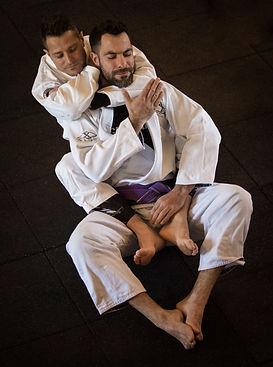 Roger Gracie Academy Henley on Thames BJJ Brazilian Jiu-jitsu Paxton Gibbons choke