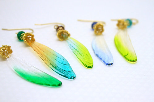 Insect wings pierce ①