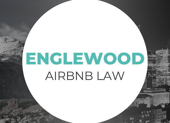 Englewood Airbnb Law