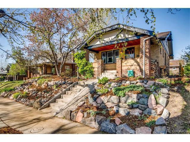 Airbnb investment property in Denver's Berkeley neighborhood.
