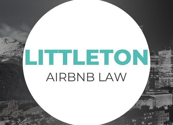 Littleton Airbnb Law