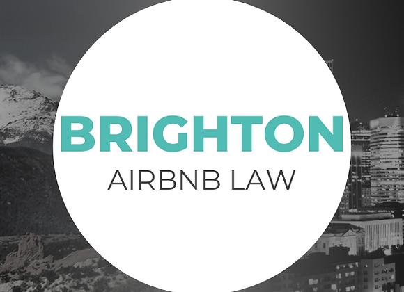 Brighton Airbnb Law