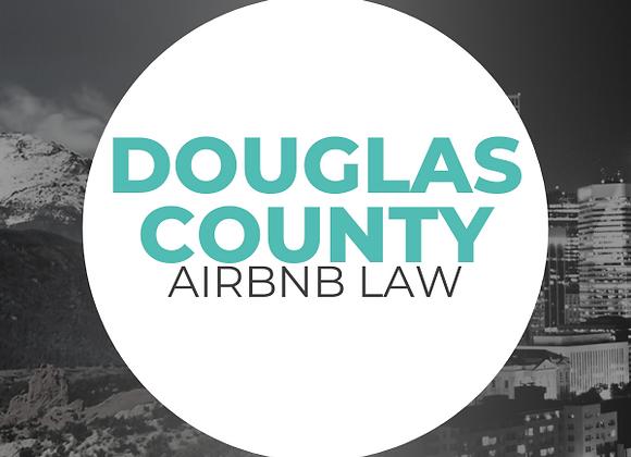 Douglas County Airbnb Law