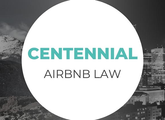Centennial Airbnb Law