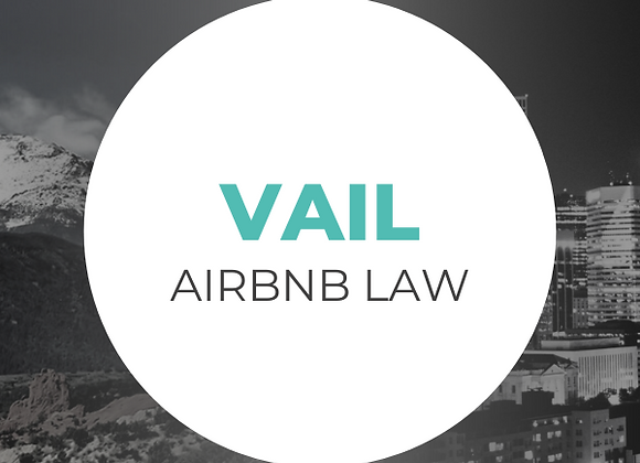 Vail Airbnb Law