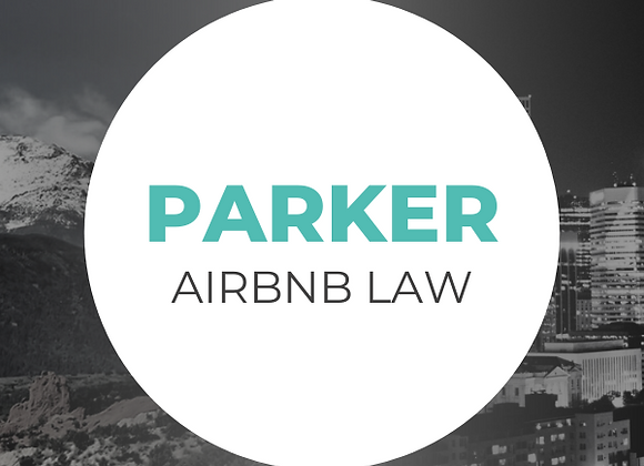 Parker Airbnb Law