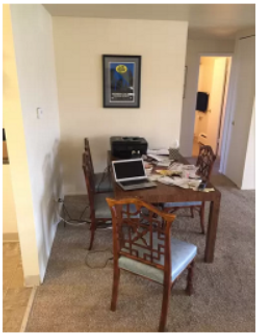 An example of poor Airbnb staging in Denver