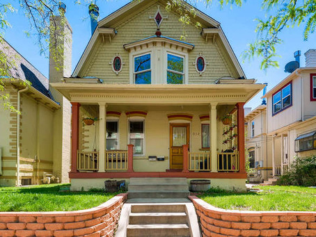 New listing! Top-floor condo in Capitol Hill Victorian home