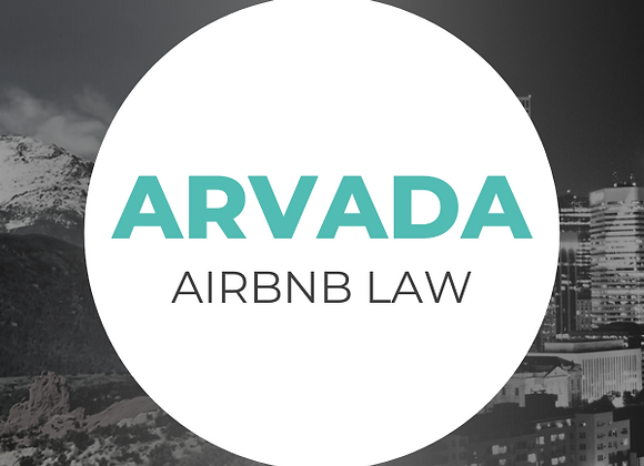 Arvada Airbnb Law