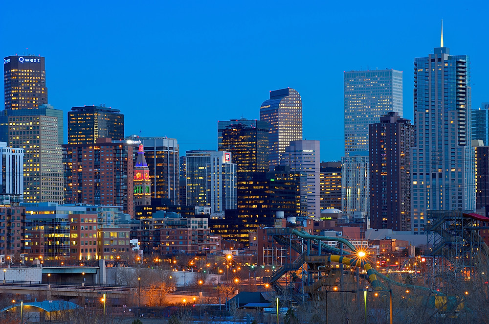 Denver skyline - New Denver Airbnb laws
