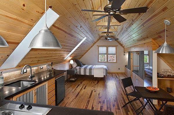 Attic apartment in Denver
