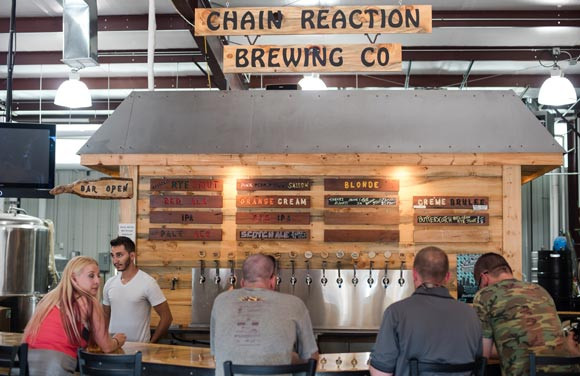 Renegade Brewery in Denver's Athmar Park, ranked the 25th most competitive neighborhood in the nation by Redfin.