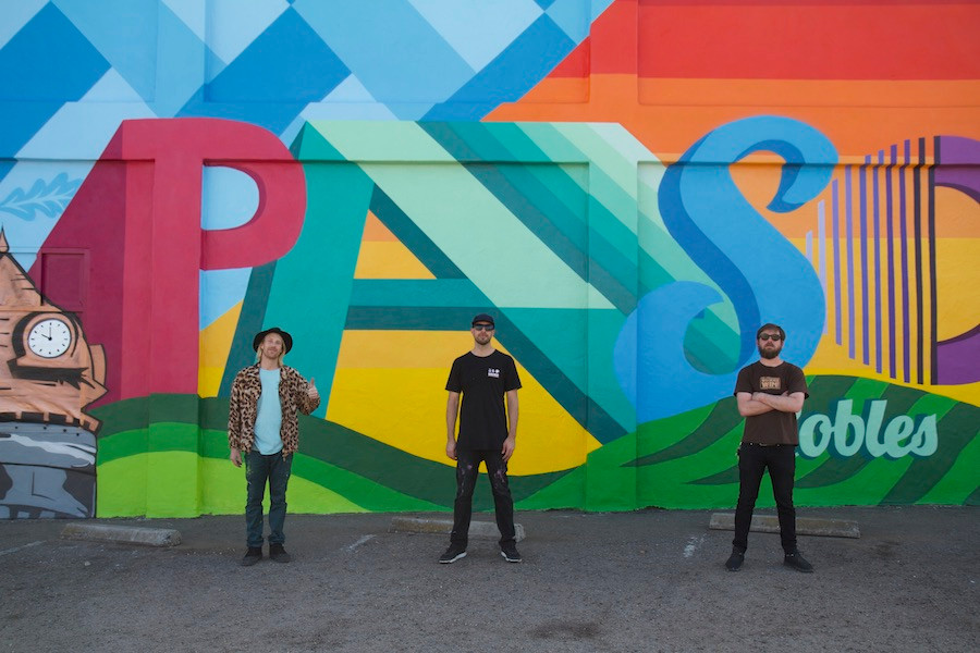 Denver street artists from the So-Gnar Creative Division -- Pat Milbery, Jason Graves and Pat McKinney -- painted a giant mural for the city of Paso Robles, California in March 2018.