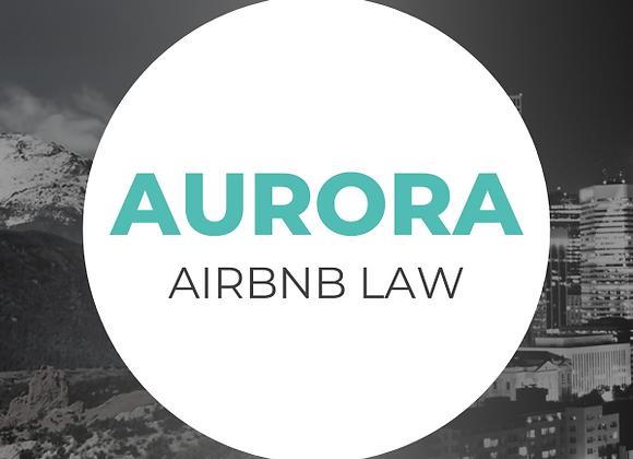 Aurora Airbnb Law