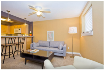 An example of good Airbnb staging in Denver