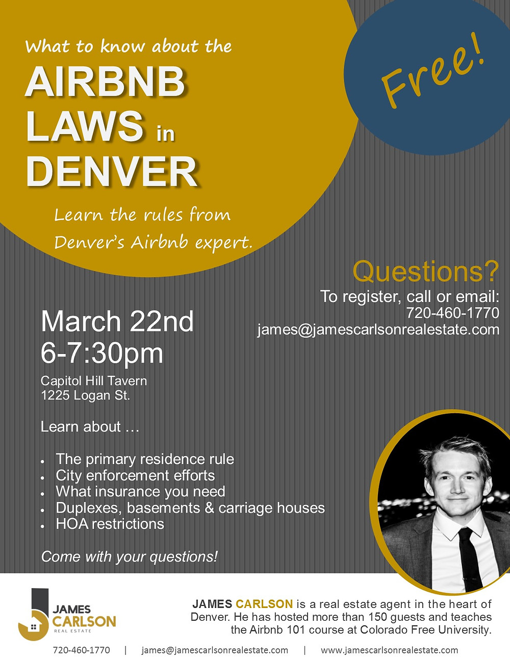 Airbnb laws in Denver: Learn the rules from Denver's Airbnb expert