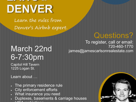 Learn about the Airbnb laws in Denver