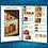 Thumbnail: Pumpkin Tablerunner - Acrylic Painting - Eng-Us