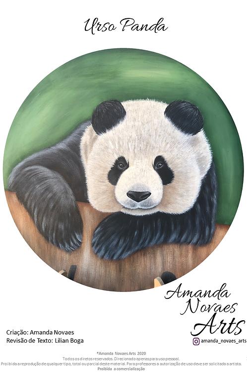 Panda - Acrylic Painting -Eng-US