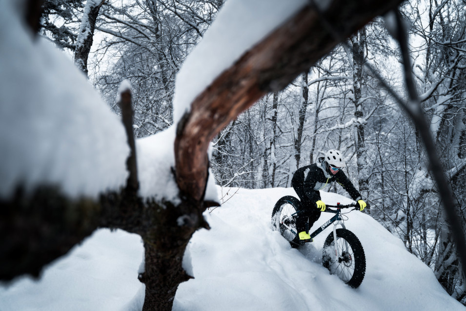 Fatbiking Norwegian Winter