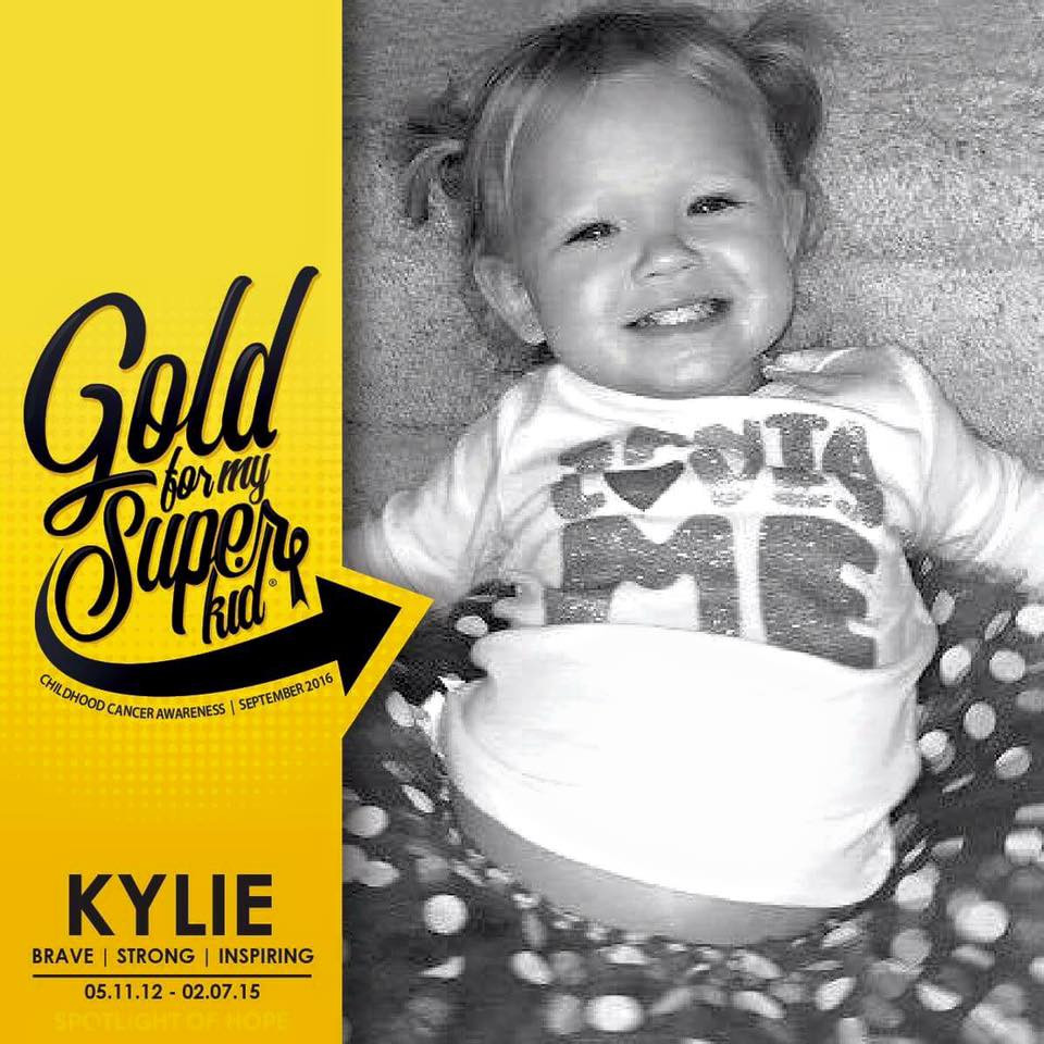 Going Gold for Kylie Rowand