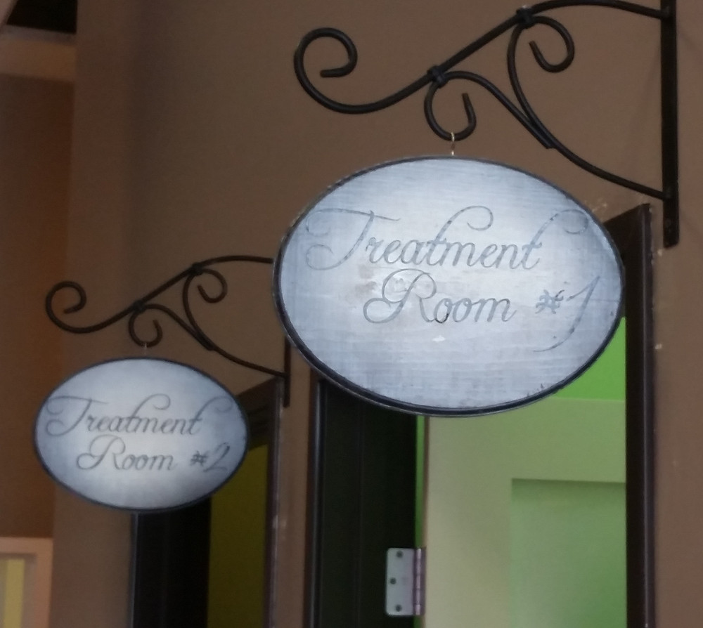 Treatment room signs
